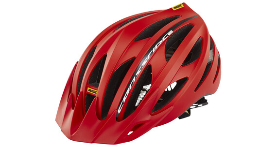 Mavic Crossride SL Elite Helmet Men racing red/black